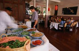 different types of buffet style restaurants