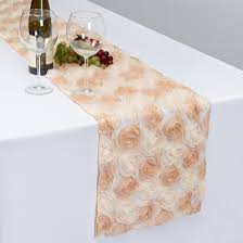 table runners and overlays
