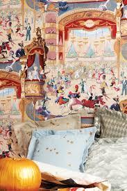 chambre cirque papiers peints pour une chambre d enfant sur le thème du cirque