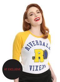 Topic Riverdale Vixens Girls Raglan Topic Exclusive Topic