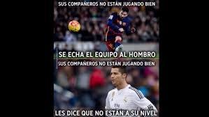 Memes De Lionel Messi - el meme que resume la diferencia entre lionel messi y cristiano