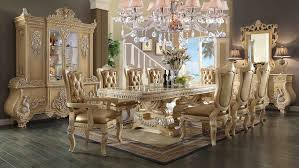 Victorian Dining Chairs 11 Piece Homey Design Victorian Palace Hd 7266 Dining Set Usa