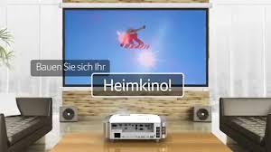 Beamer Im Wohnzimmer Acer H7550st Kurzdistanz Full Hd Projektor Mit Dts Sound Youtube