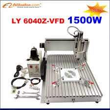 1 5kw spindle ly cnc router 6040 z vfd desktop cnc lathe jewelry stone cutting