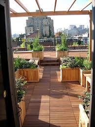 house landscape design ideas for red brick with rooftop classic