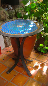 Glass Lazy Susan For Patio Table by 85 Best Tile Top Patio Table Images On Pinterest Patio Tables