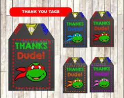 ninja turtles mask printables gift sacks color