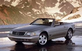convertible mercedes 2000 2000 mercedes benz sl class information and photos zombiedrive