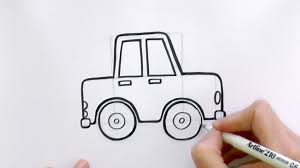 cartoon car how to draw a car youtube