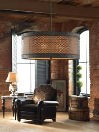 Drum Shade Pendant Light Fixture 3 Light Hanging Drum Shade Chandelier Tuscan Pendant Light Fixture