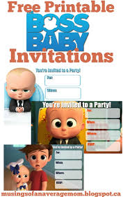 musings of an average mom boss baby birthday party