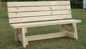 Simple Park Bench Plans Free by Simple Garden Bench Seat Project Metric Version