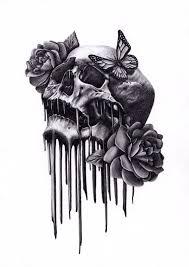 best 25 skull thigh tattoos ideas on pinterest skull tattoos