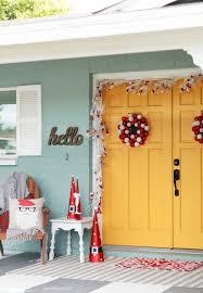 front porch decorations alaynascreations boo door wreath deco mesh