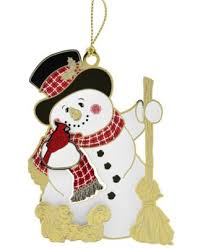 snowman ornaments macy s