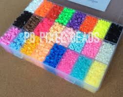 perler kit 5mm 4800 pcs or 3mm 16800 pcs