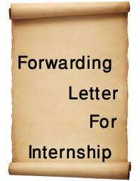 forwarding letter forwarding letter for internship assignment point