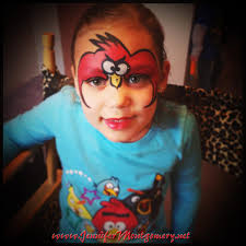 5 best images of angry bird face painting bird face painting