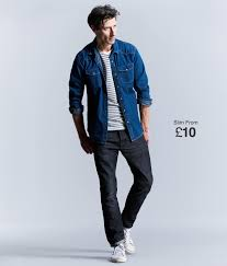 mens denim fit guide find your fit matalan
