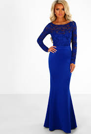 royal blue dress addicted to royal blue lace sleeve bow back maxi dress