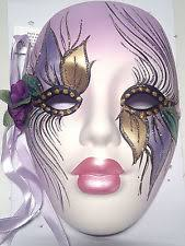 ceramic mardi gras masks ceramic venetian mardi gras resin decorative masks ebay
