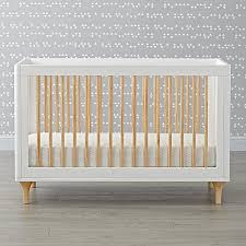 babyletto lolly white u0026 natural 3 in 1 convertible crib the land
