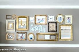 photo gallery ideas picture frame wall design ideas frame wall gold wall frames in