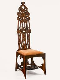 Chair Designer Charles The Artistic Furniture Of Charles Rohlfs American Craft Council