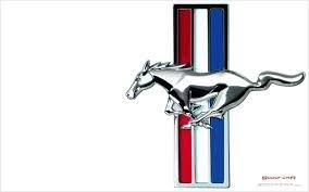 mustang logo why does ford mustang has a different logo than ford