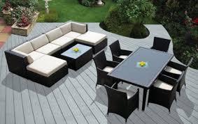 exciting exterior garden patio furniture design white large round