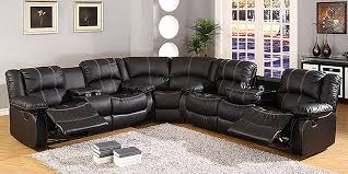 6 seat sectional sofa leather sectional sofas with recliners and cup holders 2018 couch