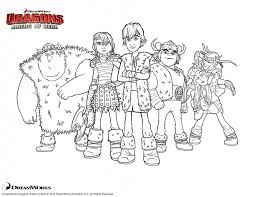 how to train your dragon 2 coloring pages free here
