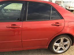 lexus is300 red 99 05 lexus is200 is300 complete door passenger rear tint glass