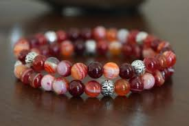 red bead bracelet images Red orange archives jpg