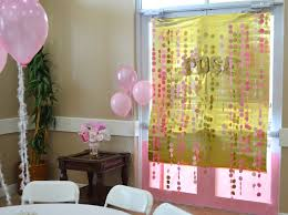 pink and gold baby shower decorations pink and gold baby shower wallums wall decor