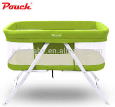 Baby Folding Bed Pouch Baby Crib Cot Infant Cradle Bassinet Baby Dream Portable Bed