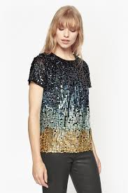 cosmic beam sequin top collections connection