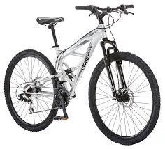 amazon com mongoose impasse dual full suspension bicycle 29