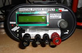 Pc Power Supply Bench Diy Variable Dc Power Supply With Display And Pc Interface