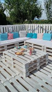 Pallets Garden Ideas Living Room Adorable Pallets Garden Lounge Projects Pallet