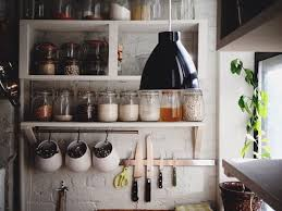 kitchen adorable farmhouse shelving unit kitchen wall shelving