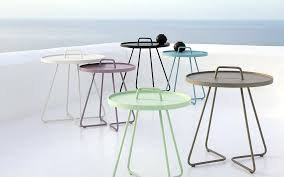 lowes patio side table aluminum aluminum outdoor side tables patio tables the patio accent