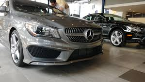mercedes showroom interior mountain grey cla250 us model images part 1