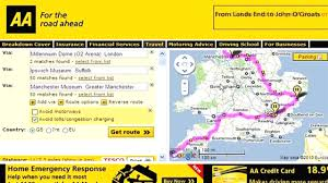 aa road map usa aa route map uk creatop me