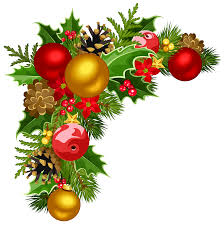 Corner Decorations by Christmas Deco Corner With Christmas Tree Decorations Clipart