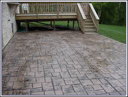 stamped concrete patios pros and cons patios home decorating