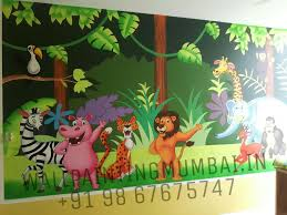 kids room cartoon painting we are make your school so beautiful and unique we are specialised for hand painted wall murals for your schools looks beautiful