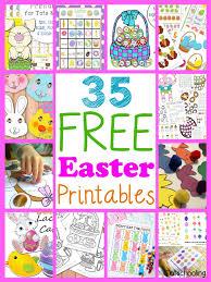 35 free easter printables for kids totschooling toddler