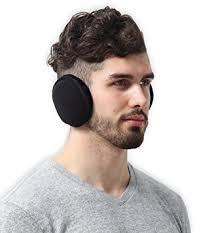 how to wear hair behind the ears amazon com fleece ear muffs ear warmers behind the head