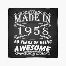 60 years birthday special gift for 60th birthday made in 1958 awesome birthday gift